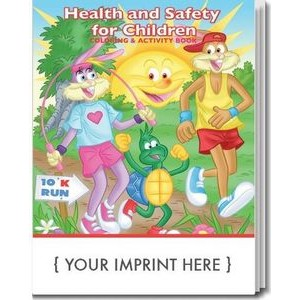 Health & Safety for Children Coloring & Activity Book
